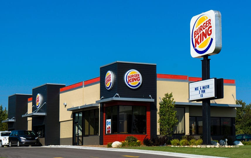 picture of Burger King restaurant