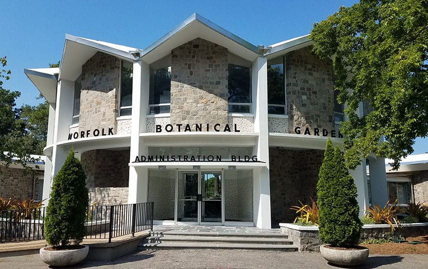 Botanical Gardens Administration building