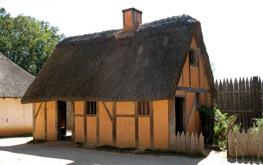 Municipal Credit Union >> Jamestown 1607 Replica Buildings :: McPherson Design Group